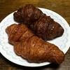 DONQ - 料理写真:上がチョコ下がノーマルのクロワッサン