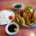 ヤマヨ - エビの天ぷらランチ