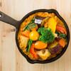 野菜を食べるカレーcamp - 料理写真:南インドカレー