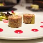 レストラン リューズ - ☆ソーセージ、フォアグラのテリーヌ