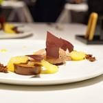 レストラン リューズ - ☆チョコレートアイス、パッションフルーツ