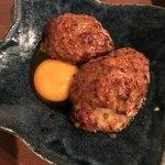 鶴橋いちごいちえ - つくね 卵黄