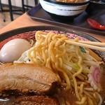 麺家 いちぼう - 料理写真:極太ちぢれ麺