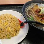 錦福香 - 料理写真:Cランチ(炒飯+台湾ラーメン)