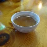 庄司そば - 蕎麦茶