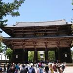 にぼしこいし - 東大寺・南大門