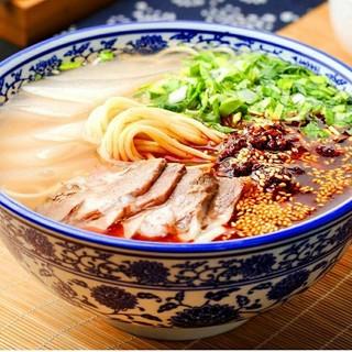 国産牛骨と20種類のスパイス煮込んだ清湯スープ