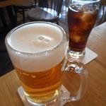 PIZZERIA&BAR CERTO! - 生ビール&ラムコーク