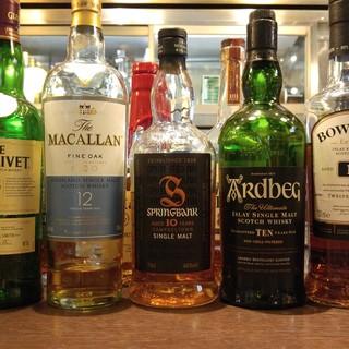 ウイスキーが30種類!