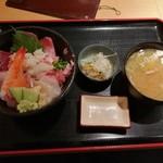 ふくしま市場大晃 - 日替り海鮮丼950円