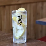 栄 馬肉酒場 馬喰ろう - 極馬レモンサワー