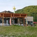漁港食堂 だいぼ - テラスで食べれば、もっと美味しかったかも・・・