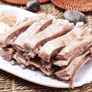 ラム肉の柔らかスペアリブ