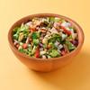 コロンバン - 料理写真:蒸し鶏と彩り野菜のチョップドサラダ