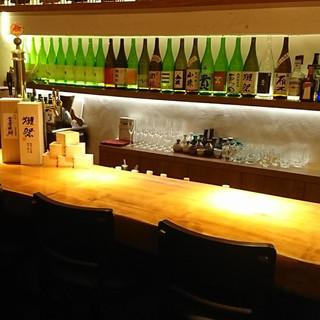 「獺祭」を生み出した山口が誇る日本酒の数々をご堪能ください!