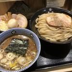 京都 麺屋たけ井 - つけ麺(大)400g 全部のせ