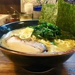 介一家 - [2018/05]ラーメン並盛・油少なめ・麺固め(750円)