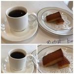 86246933 - ◆自家製フィナンシェと珈琲 フィナンシェは普通に美味しいですし、珈琲が良い味わい。
