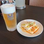 台湾料理 北海楼 - 料理写真:ビールに付いて来ます