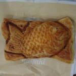 築地銀だこ  - クロワッサン鯛焼き210円(カスタードクリーム入り)