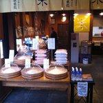 京都 錦 中央米穀 - お米がたくさんあって興奮しました