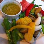 8625213 - 夏野菜のバーニャカウダ
