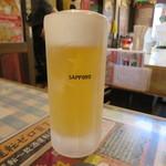 時代屋 - ビール 500円(2018年5月)