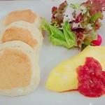 86251533 - ご飯系パンケーキ