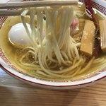 86253162 - 煮干しそば(松)麺リフト