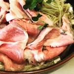煮干ラーメンとローストビーフ パリ橋 - チャーシューマシ(マシ) ¥150