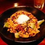 モンスーンカフェ - アボカドのヘルシーガパオ炒めご飯(酵素玄米)