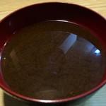 とり安 - 赤出汁