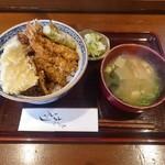 天ぷら はせ川 - 天丼 1,200円