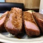 レストランばーく - ハムカツ アップ