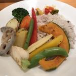 ナチュラルカフェベジクラージュ - 野菜 18穀ライス