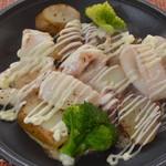旬彩和さび - ヤリイカのバター焼き