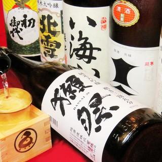 店長の好みで厳選「日本酒とレモンサワー」