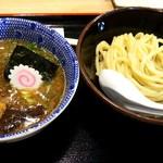 三竹寿 - 味玉濃厚豚骨魚介つけ麺の並(800円)