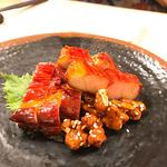 中華銘菜 慶 - 料理写真:テカテーカなチャーシューでこんぬつわ。