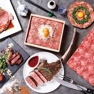 極上なお肉達を様々なスタイルで愉しむ肉好きのための肉居酒屋!