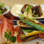 明治座 - 旬野菜のサラダバルサミコドレッシング