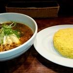 東京ドミニカ - ひき肉とチーズのスープカレー