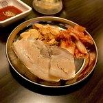 串かつ えいちゃん - *蒸し豚(小)(¥380)