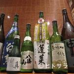 あじ彩 真 - 岡山地酒、県外酒どちらも多数ご用意してます。