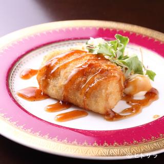 大切なお客様とのお食事に。和洋折衷のお料理でおもてなしを。