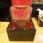 和創・割烹 源 - 米鶴 ※この日のサービス日本酒