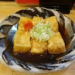 和創・割烹 源 - 豆腐の揚げ出し