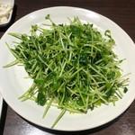 日本橋焼餃子 - 単品の豆苗炒め