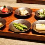 USHIGORO S Nishiazabu - ☆旬野菜6種
