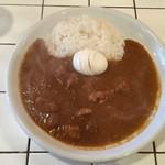 Curry House TIRI TIRI   - ポークマサラ(スモール)+ゆで卵